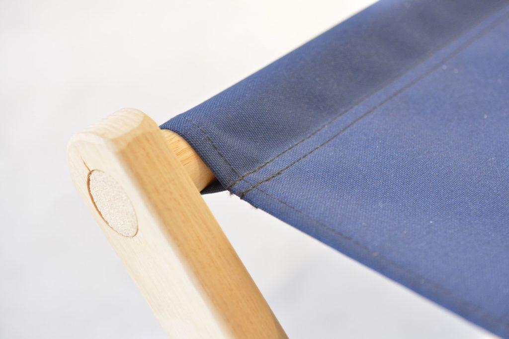 ブルーリッジチェアワークス ボイジャーベンチ 縫製