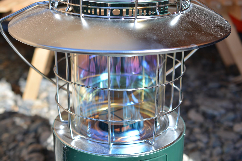トヨトミ レインボーストーブ(石油ストーブ)RL-250-G ガラス部分
