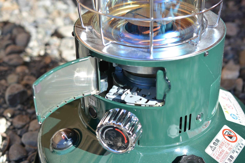 トヨトミ レインボーストーブ(石油ストーブ)RL-250-G 点火口