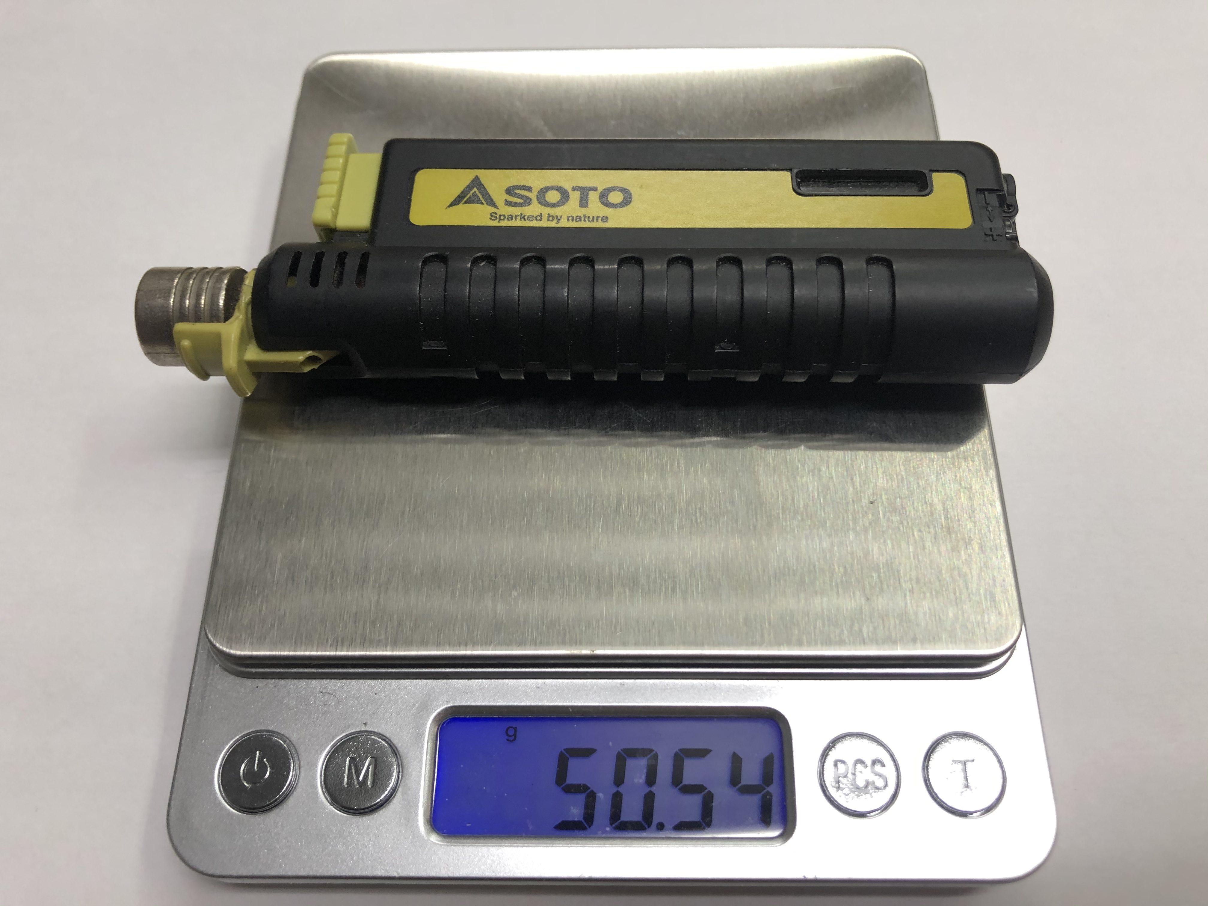ソト(SOTO) スライドガストーチ ST-480 重量