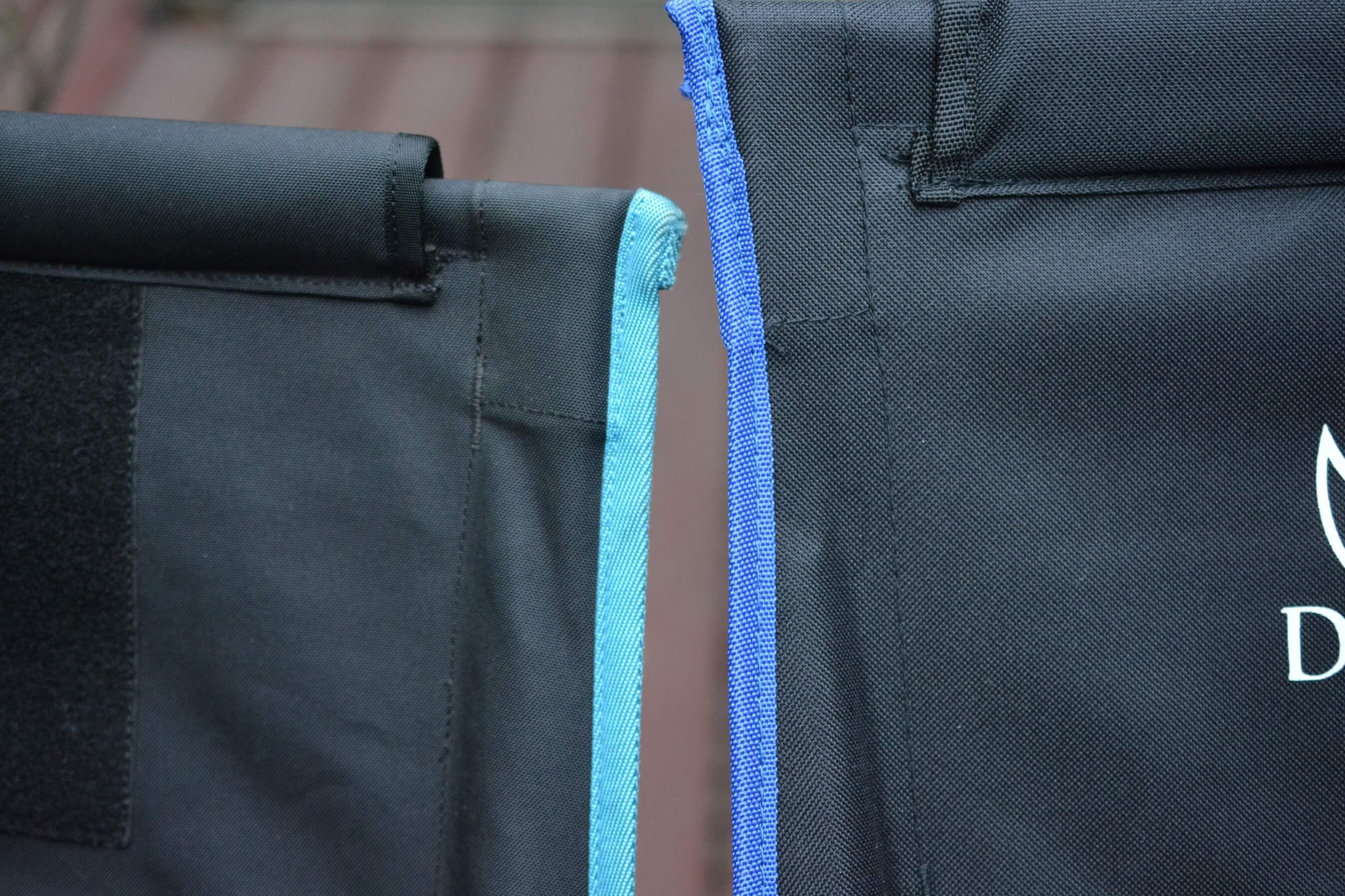 ヘリノックス チェアツー VS DesertFox アウトドアチェア 縫製