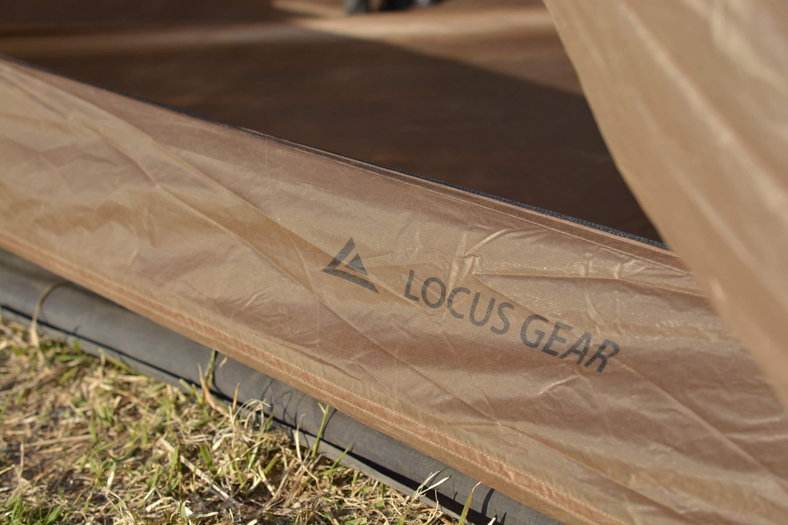 LocusGear Khufu HB / ローカスギア クフ HB ロゴ