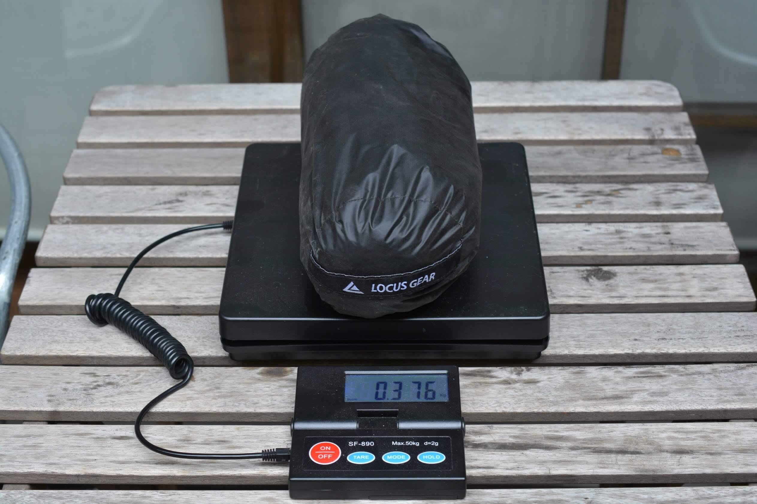 LocusGear Khufu HB / ローカスギア クフHB インナーメッシュ 重量