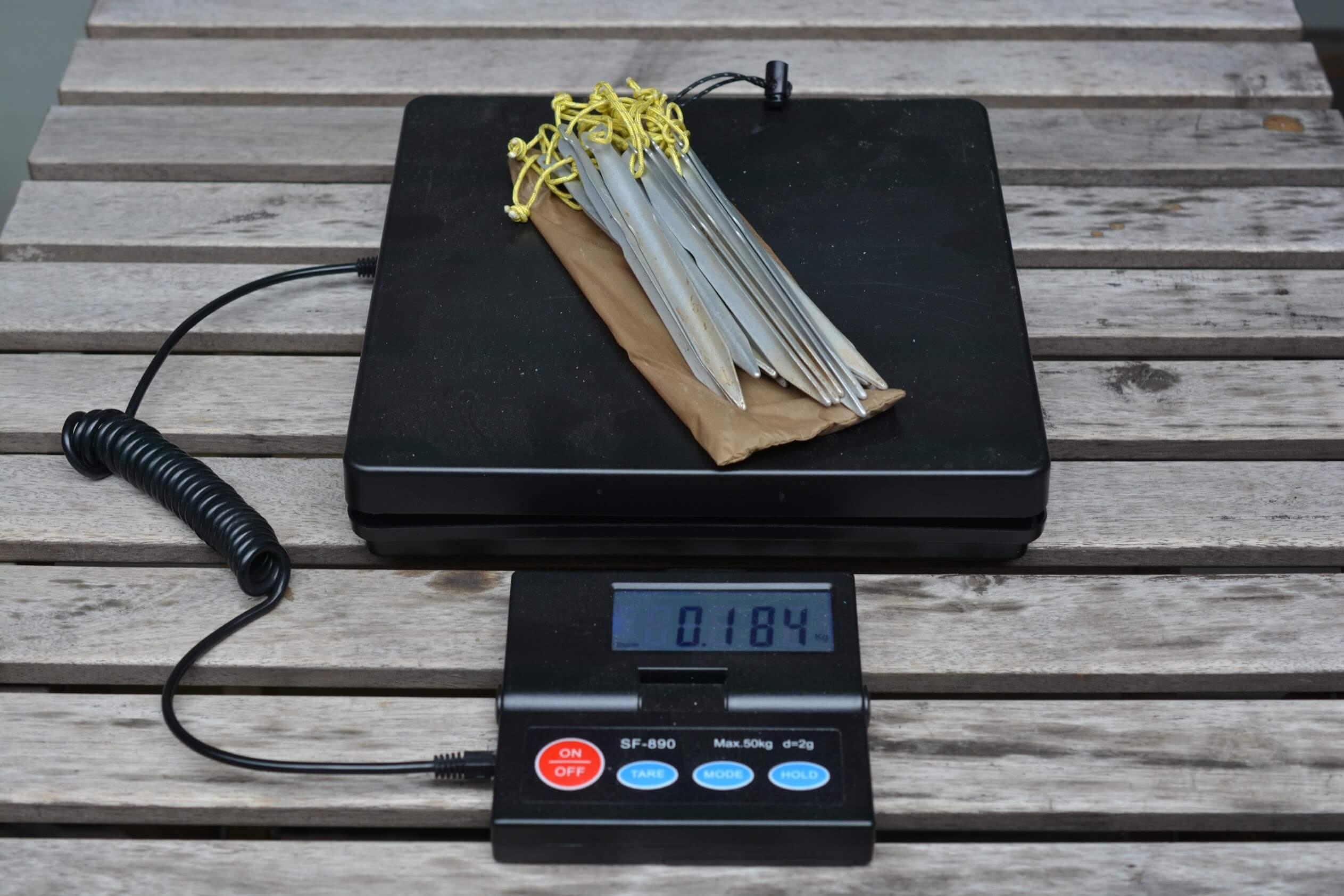 LocusGear Khufu HB / ローカスギア クフ HB DACペグ 重量