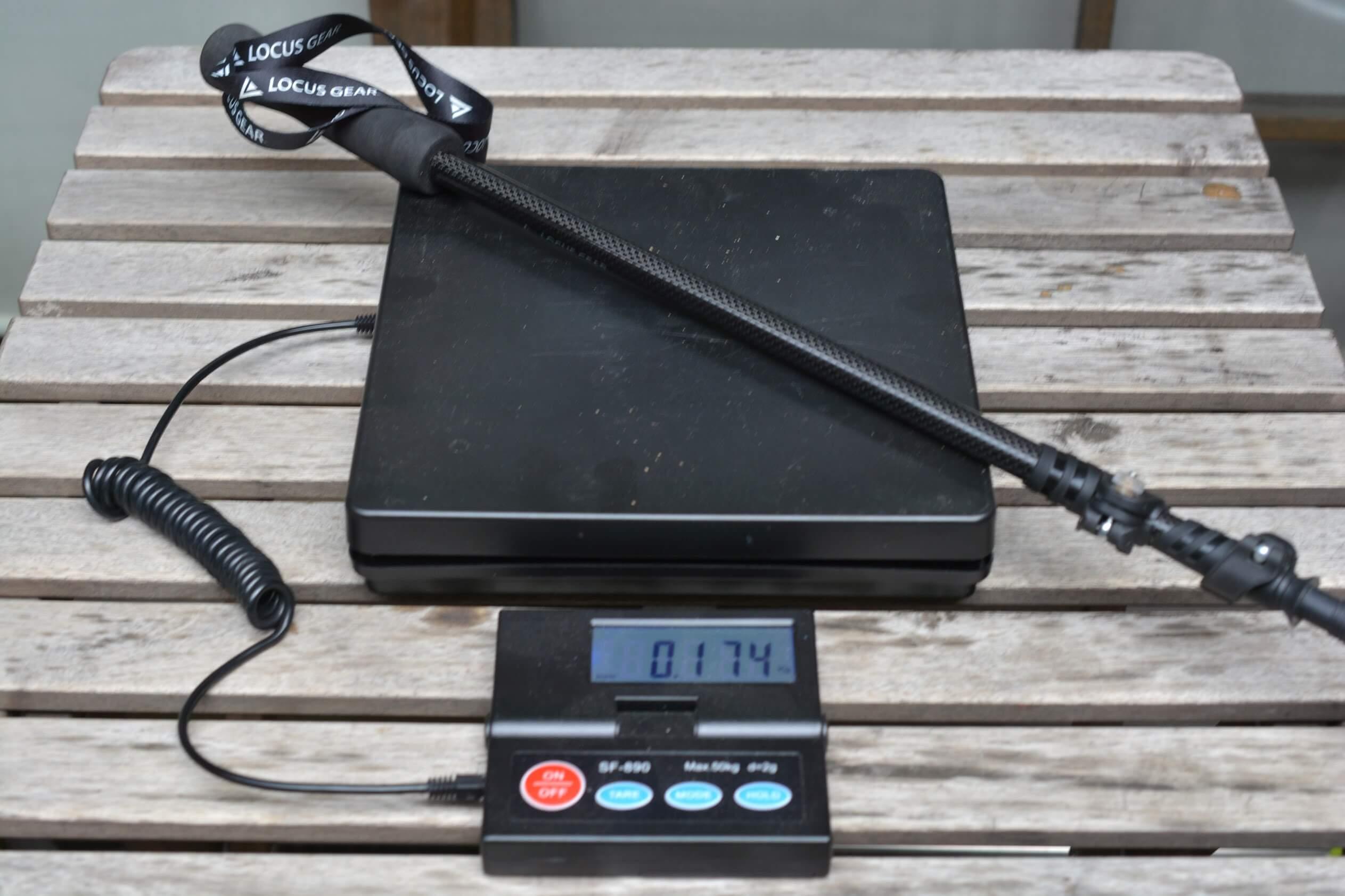 LocusGear Khufu HB / ローカスギア クフ HB トレッキングポール 重量