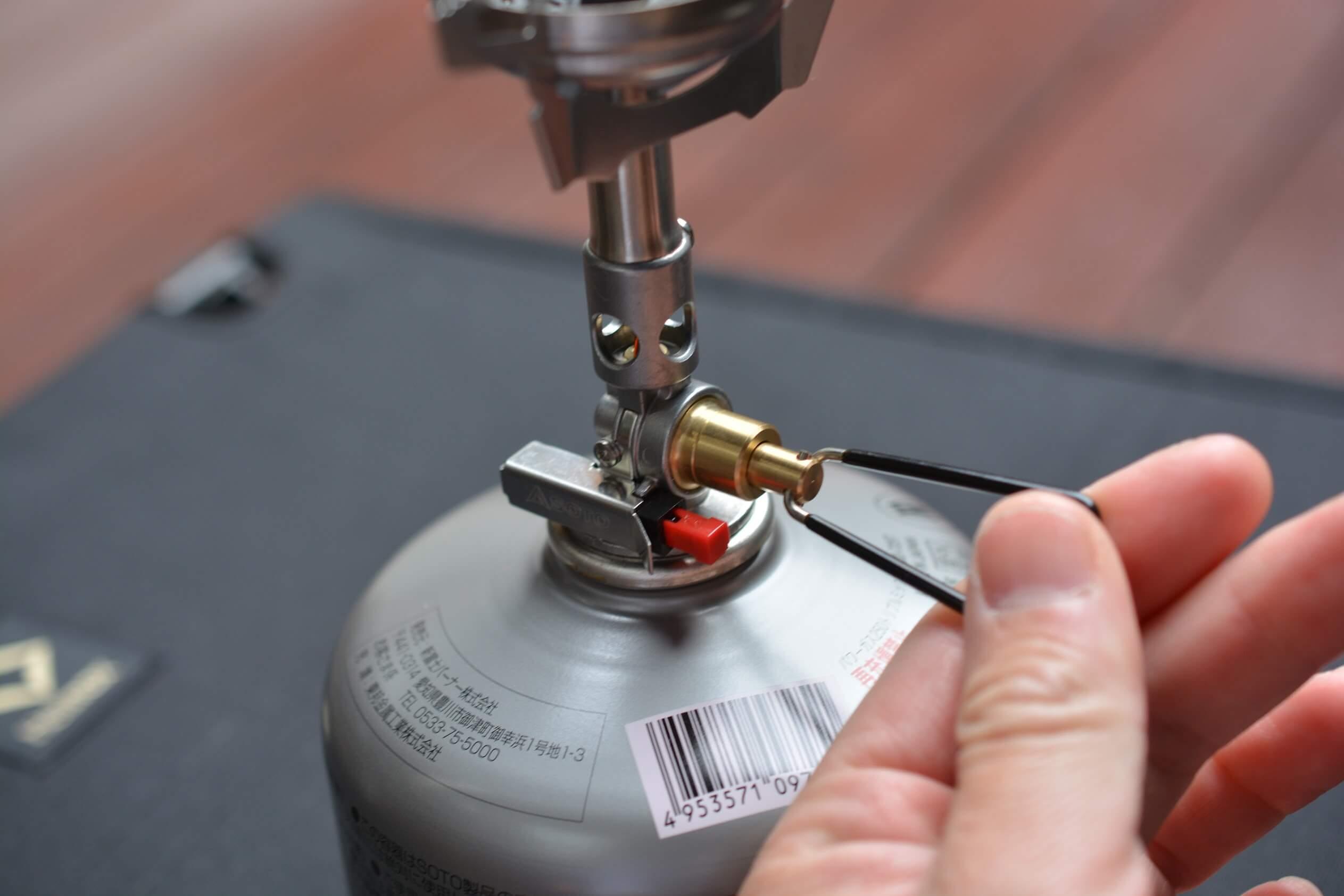 SOTO ウィンドマスター[SOD-310]  ガス調整ツマミ
