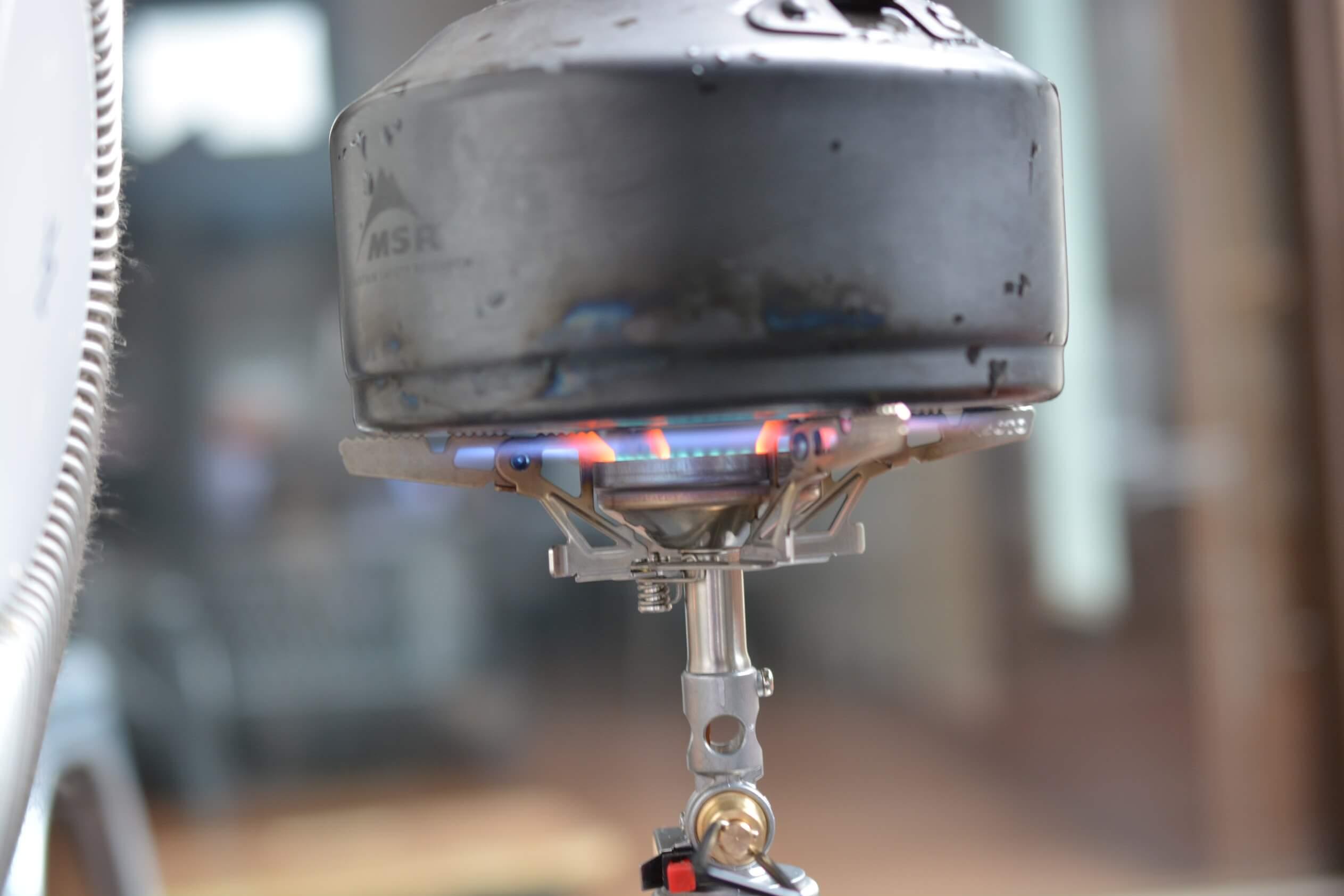 SOTO ウィンドマスター[SOD-310]  防風性実験