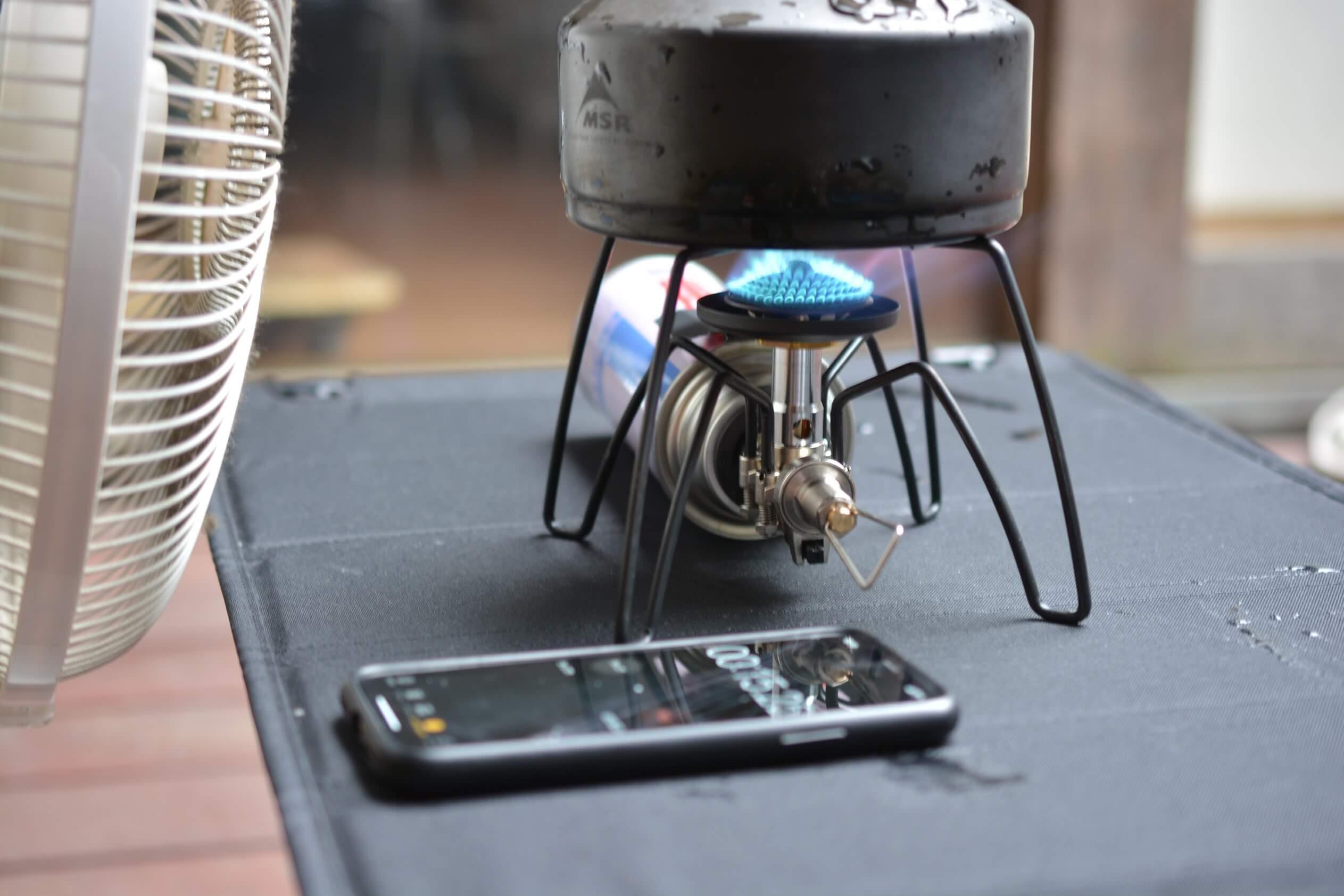 SOTO [ST-310]  防風実験