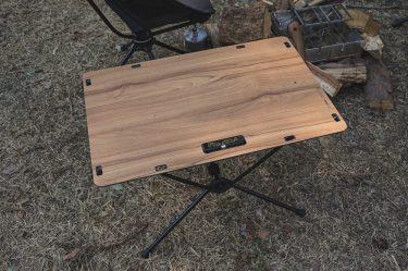ヘリノックス テーブルワン ソリッドトップ レビュー。汚れOK!秀逸デザインの名作テーブル。
