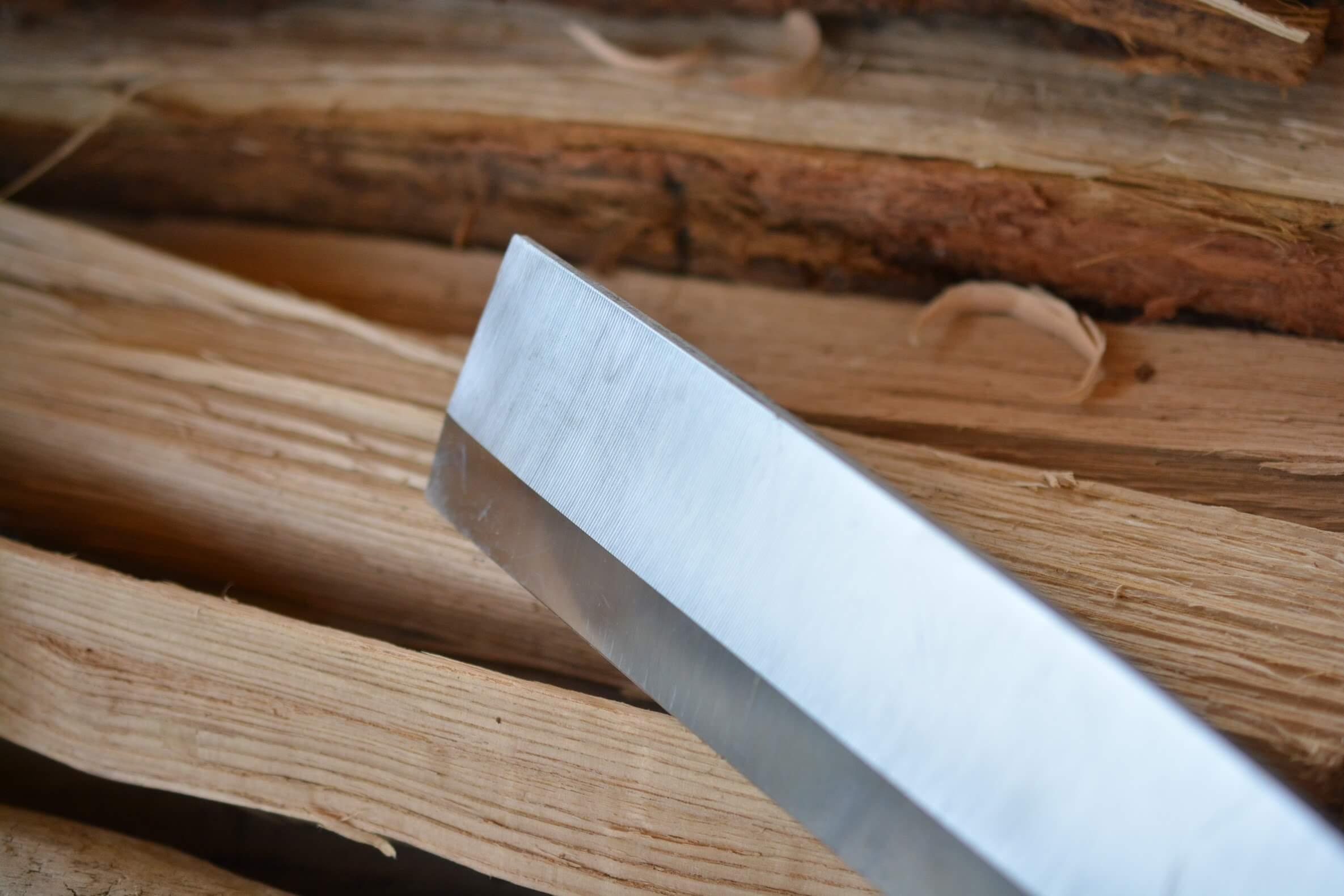シルキーナタ180 両刃 刃(ブレード)部分 左側
