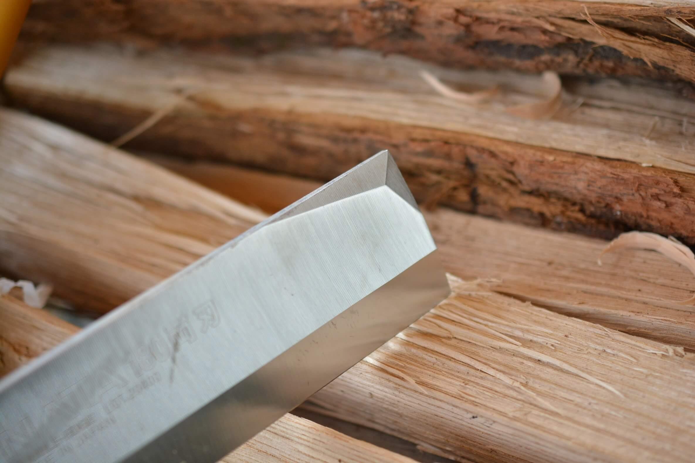 シルキーナタ180 両刃 刃(ブレード)部分 右側