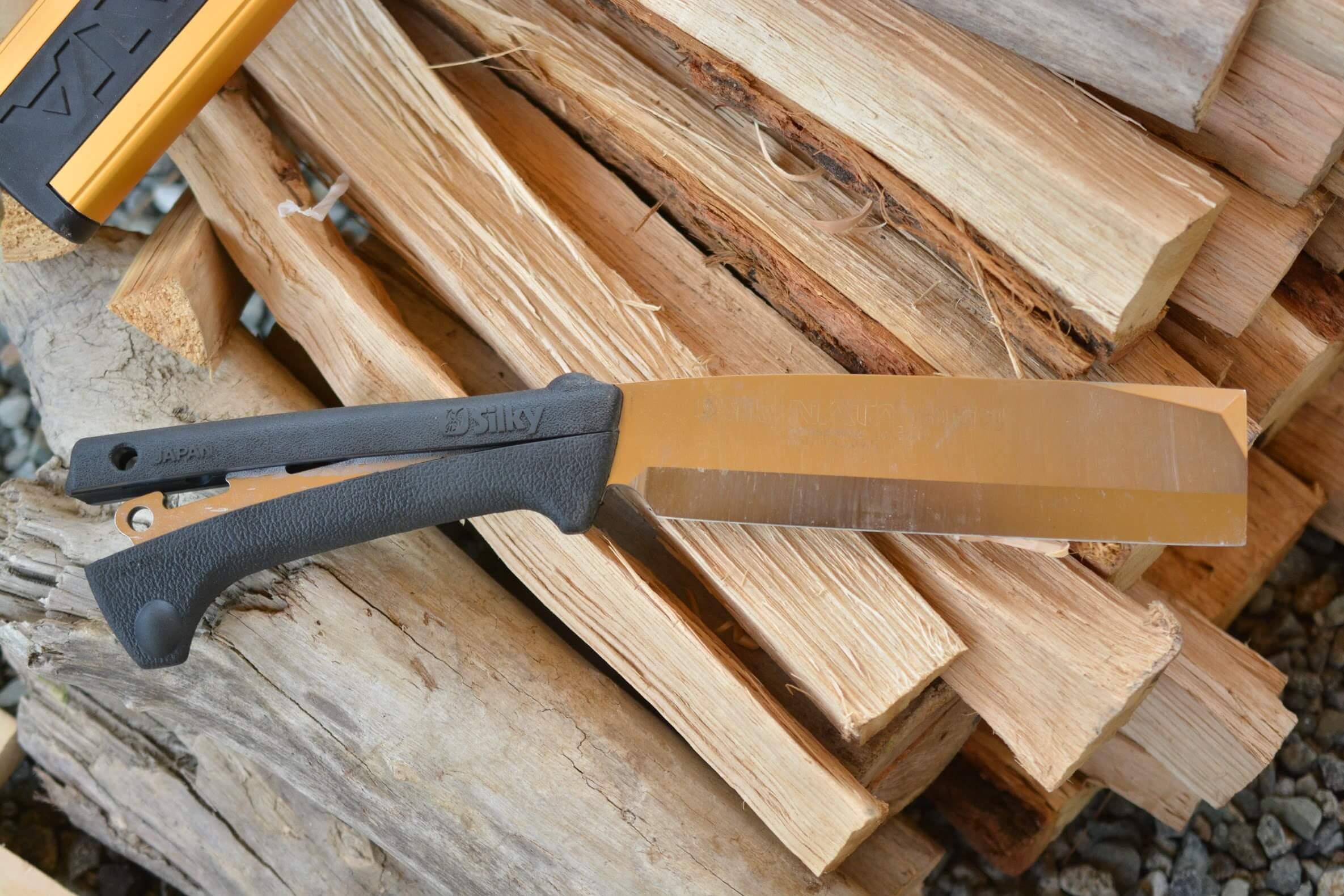 シルキーナタ180 両刃 刃交換