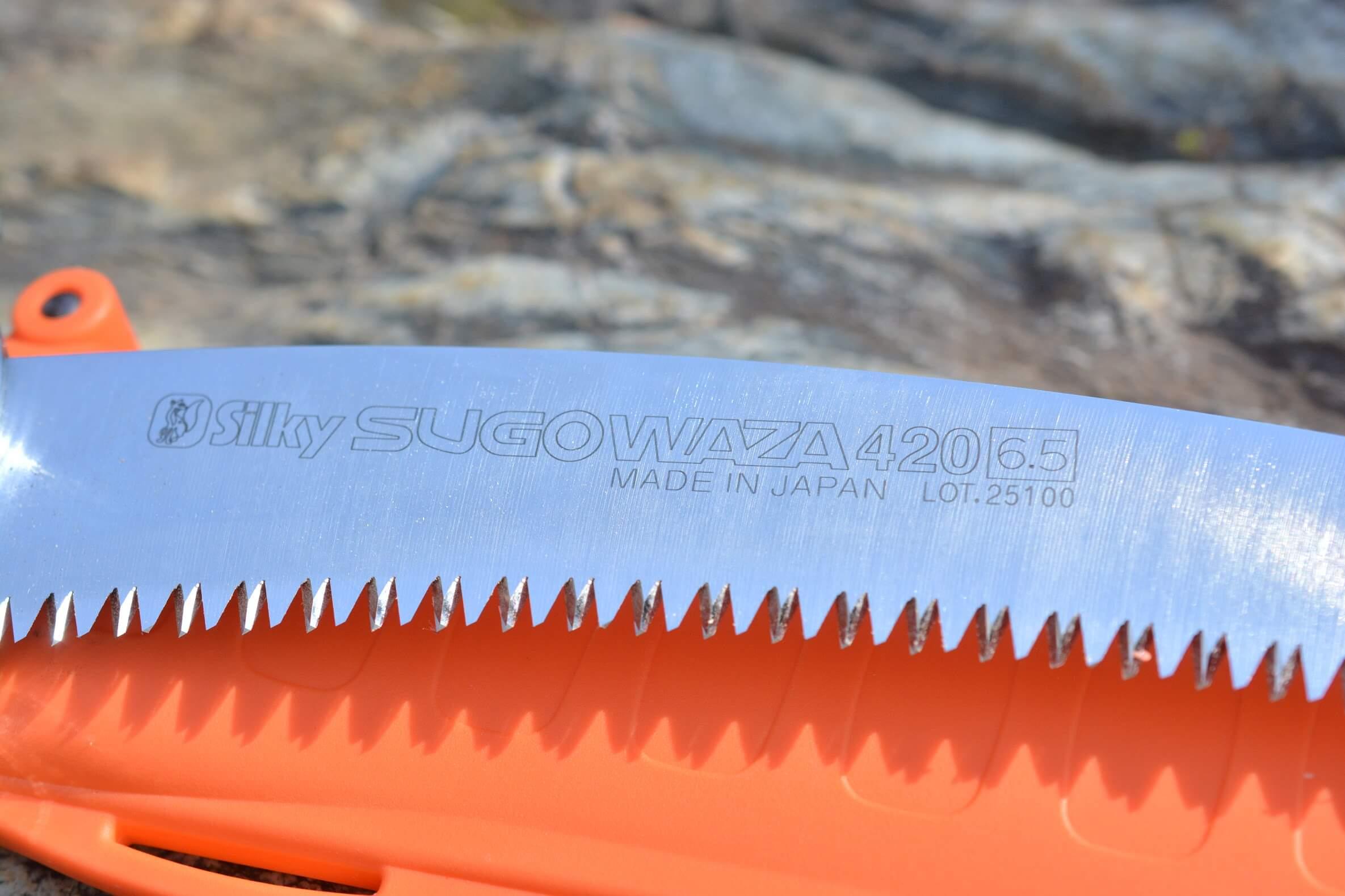 シルキースゴワザ420 ブレード ロゴ