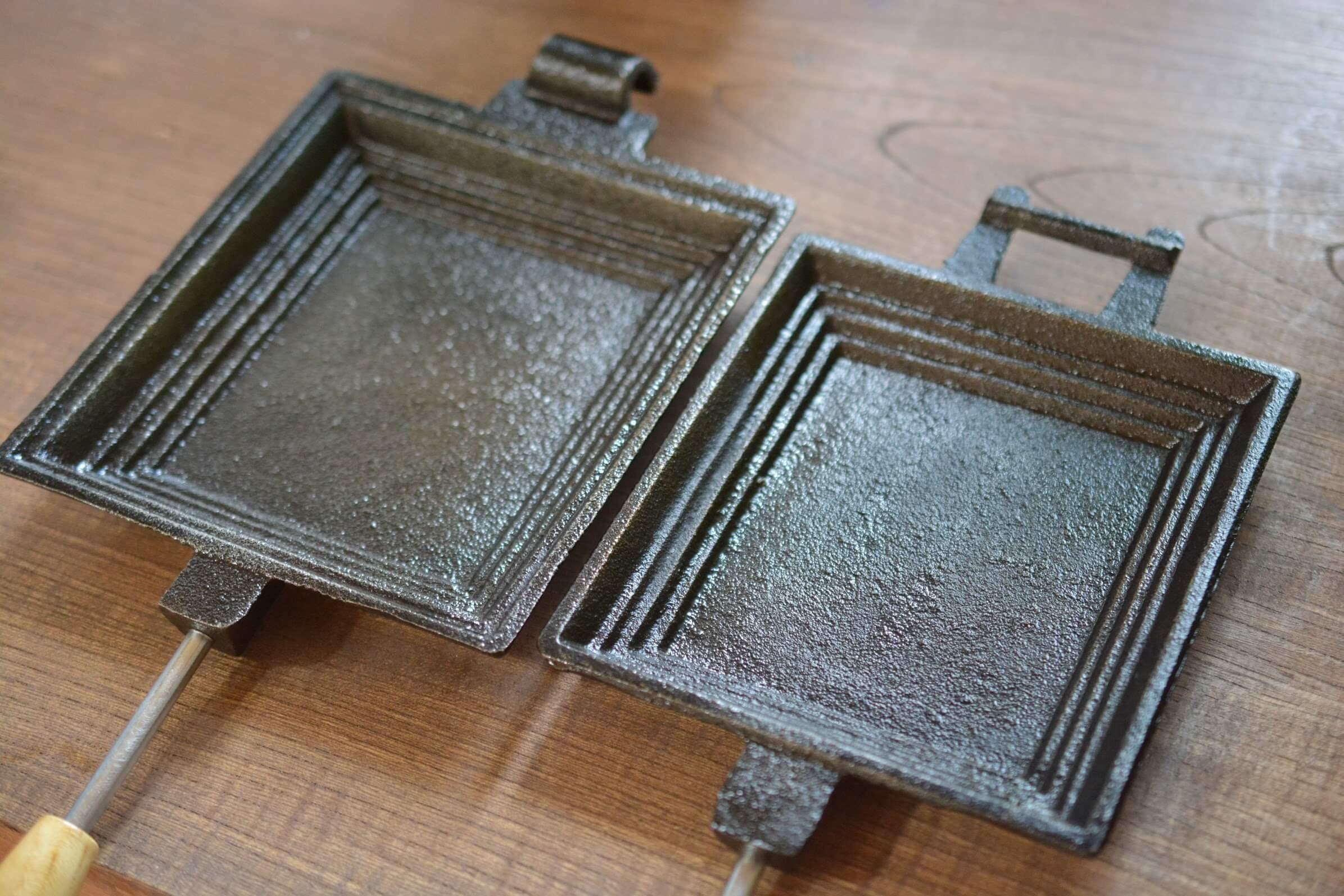 コフラン ホットサンドメーカー 内側表面