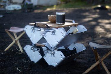 [DIYシリーズ]スノーピーク シェルフコンテナ25 木製天板の簡単な作り方
