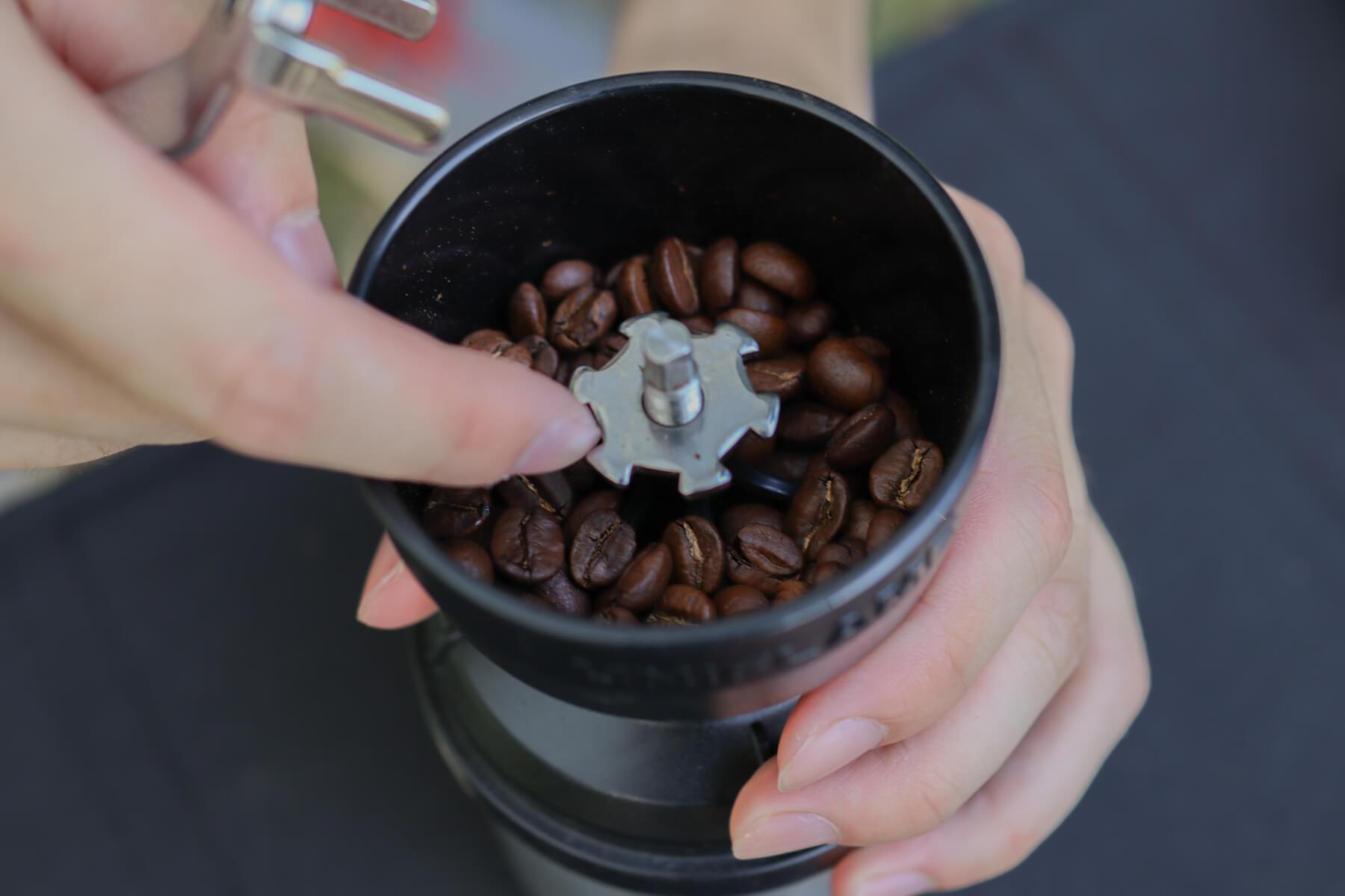 UNIFLAME UFコーヒーミル 粗さ調整ナット