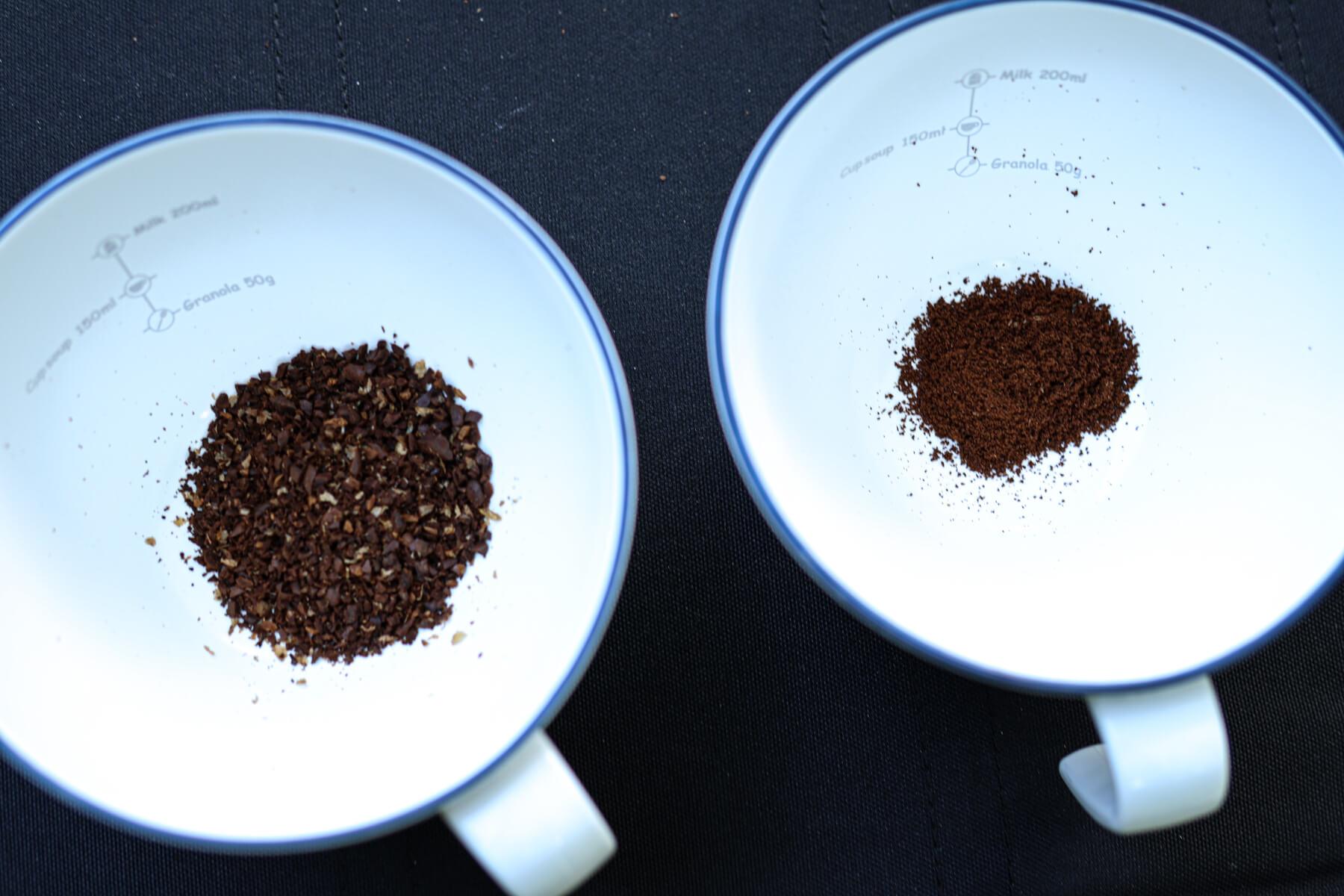 UNIFLAME UFコーヒーミル 粗さ調整