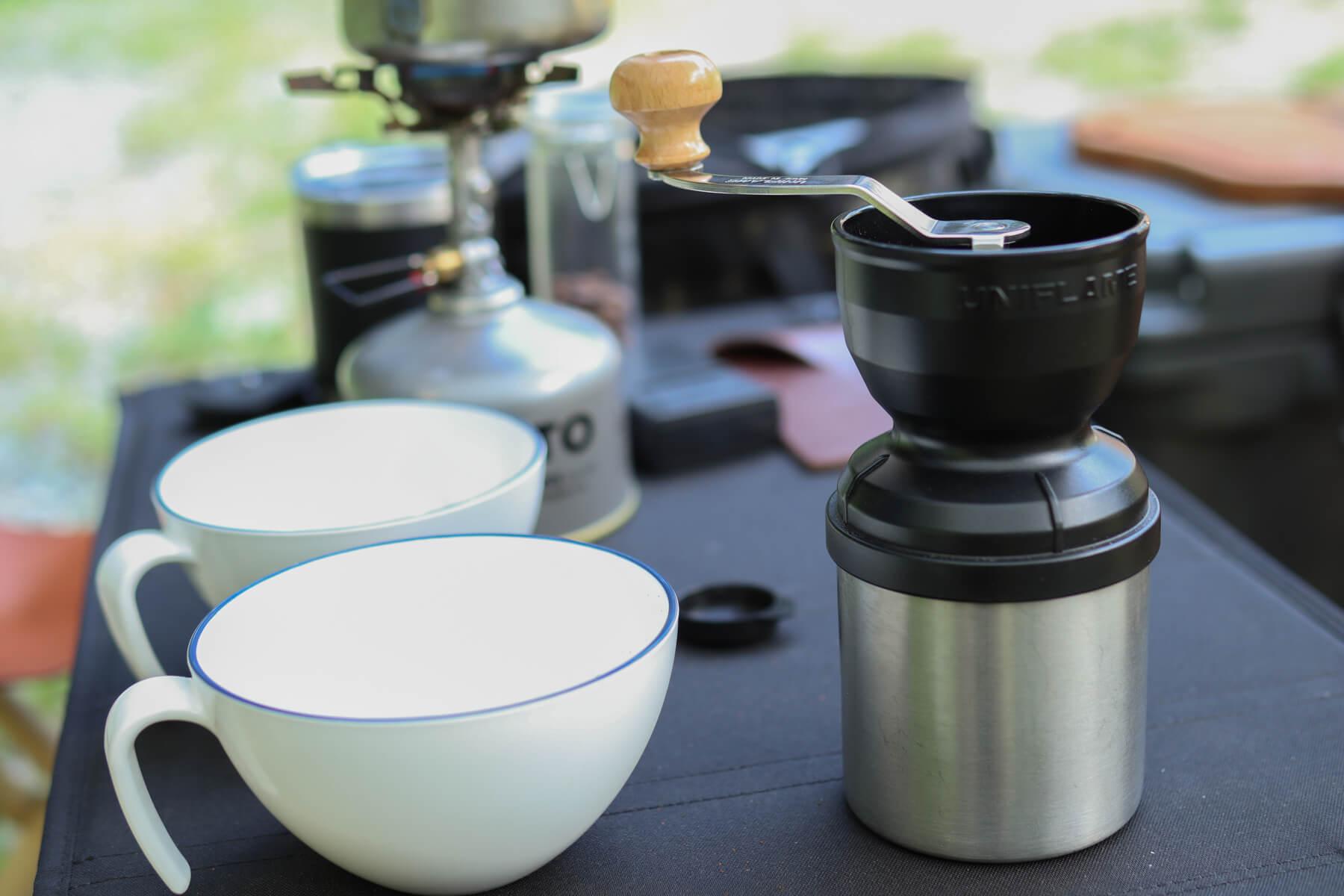 UNIFLAME UFコーヒーミル SPEC