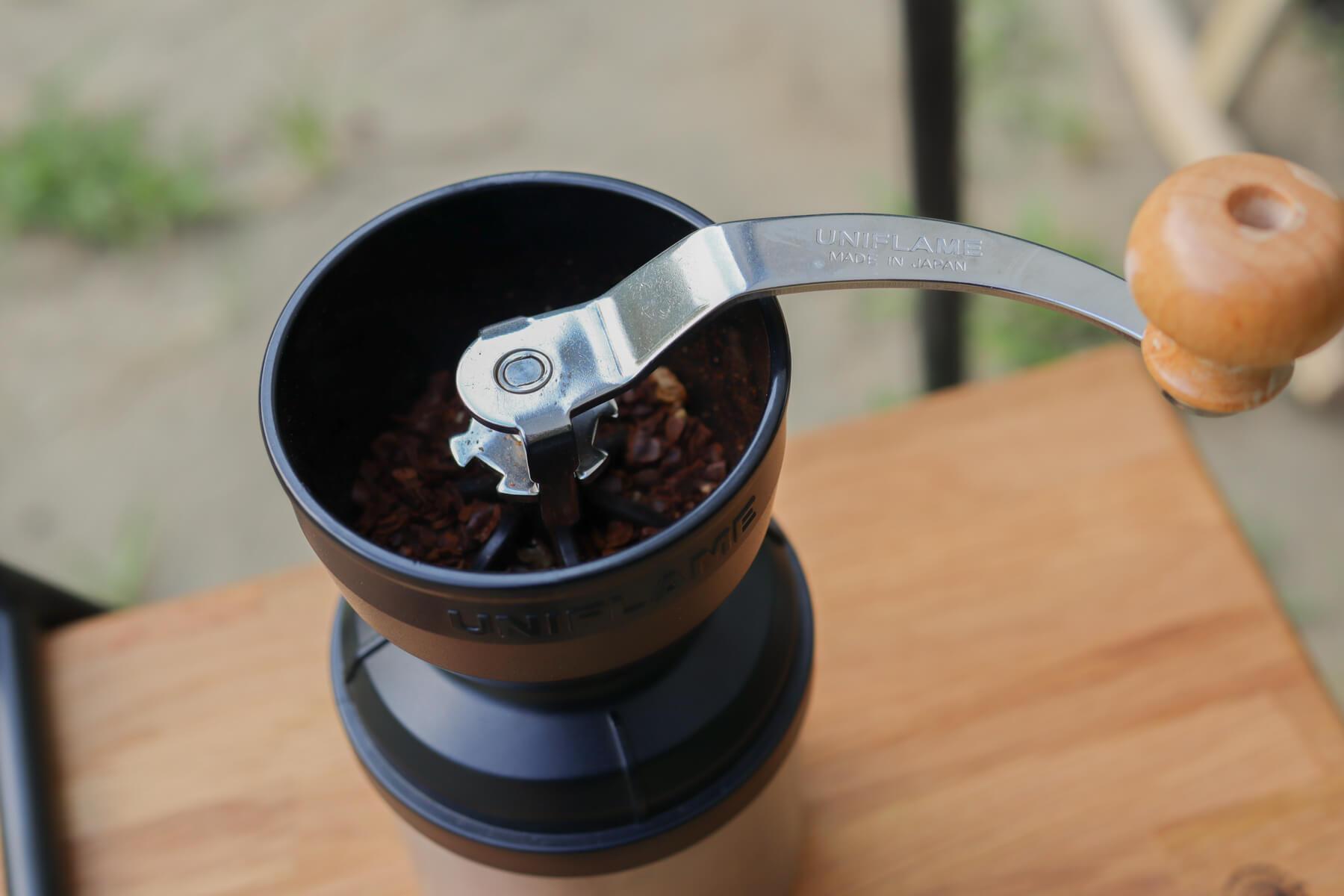 UNIFLAME UFコーヒーミル ハンドルノブ