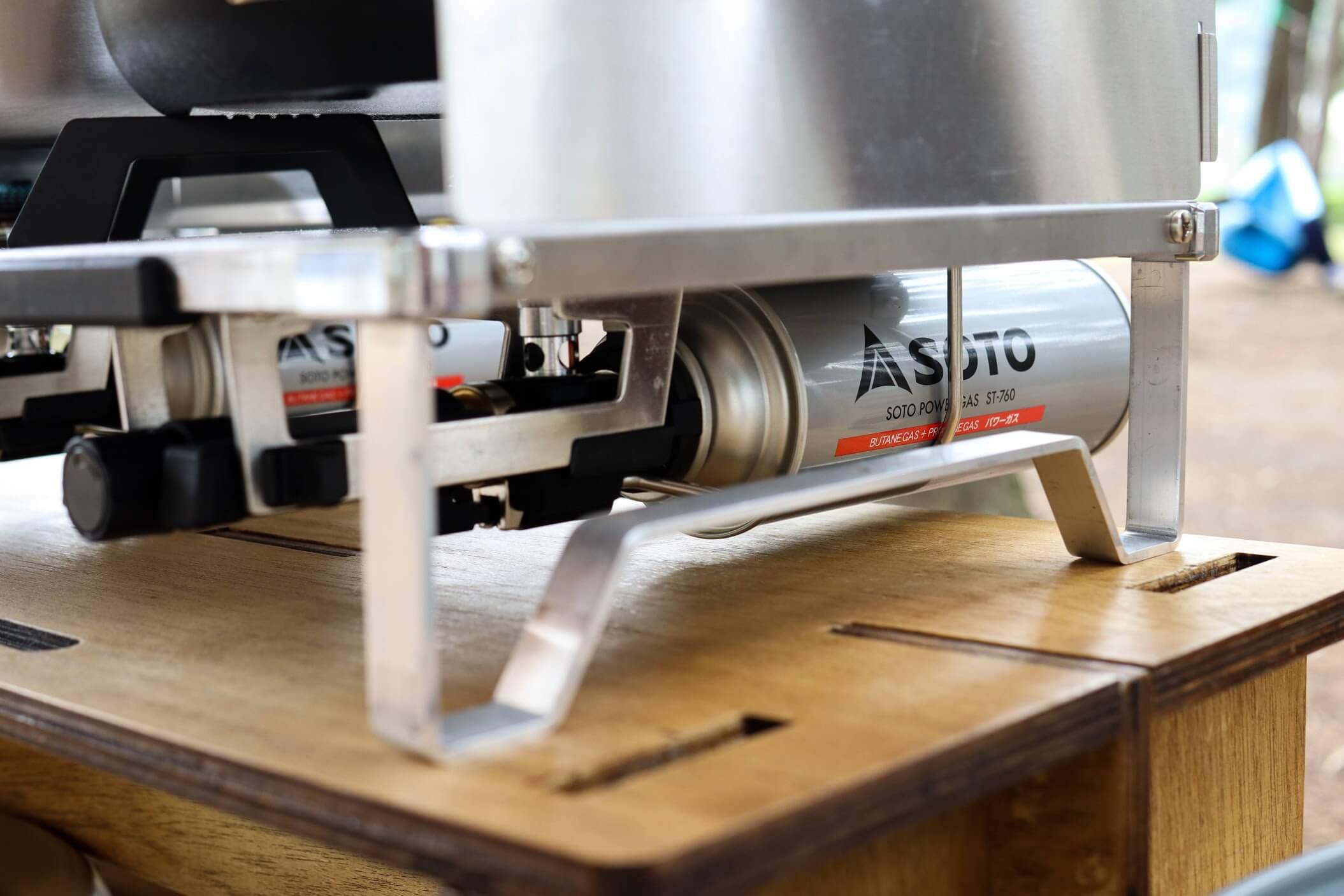 SOTO レギュレーター 2バーナー GRID ST-526 + ST-760