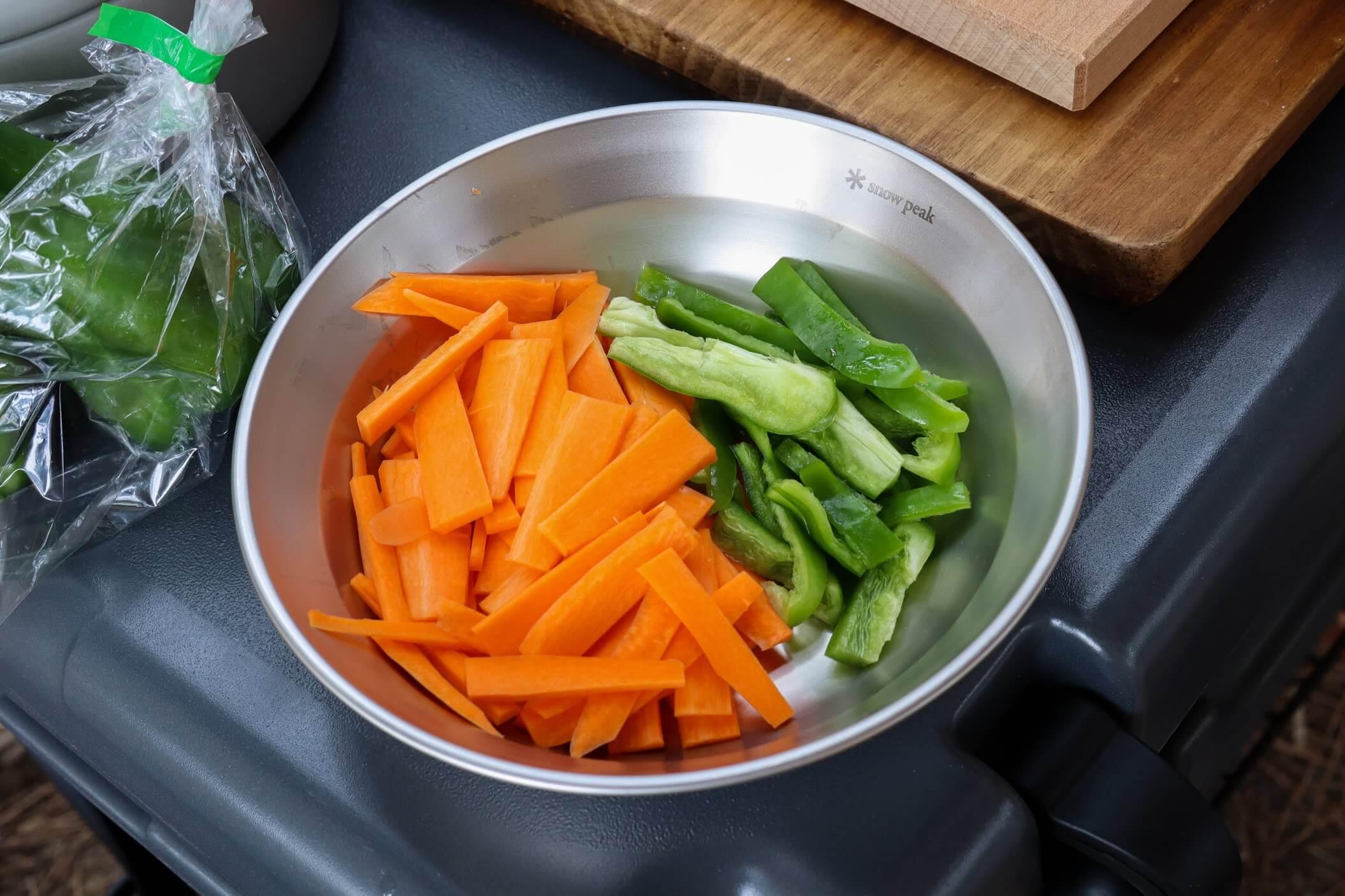 snowpeak マナイタセットL 野菜