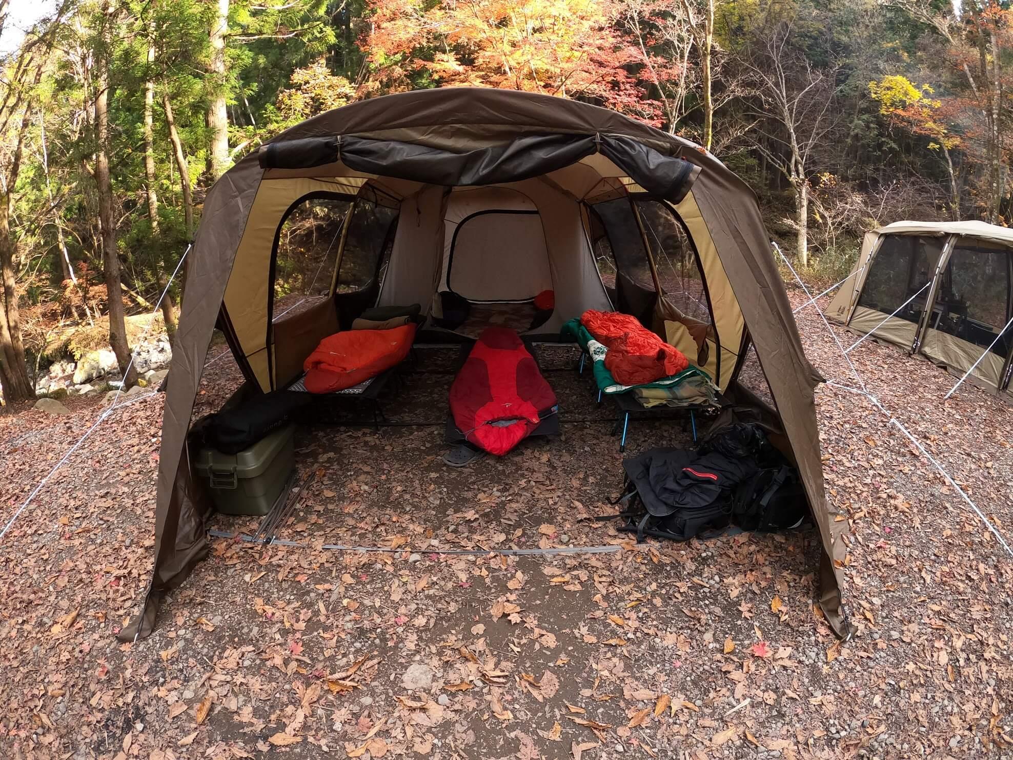 道志の森キャンプ場 ogawa ティエラ ラルゴ