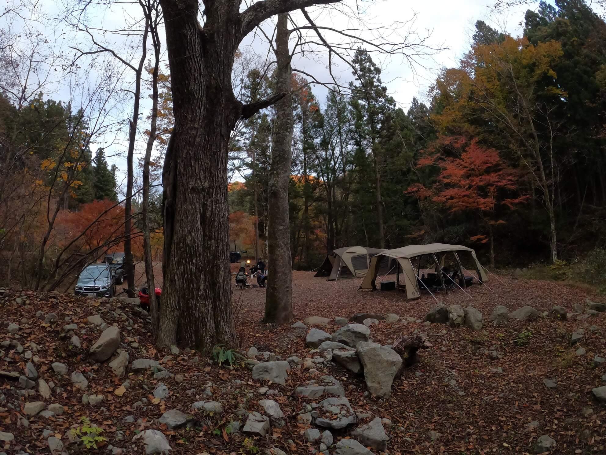 道志の森キャンプ場 訪問レポートブログ