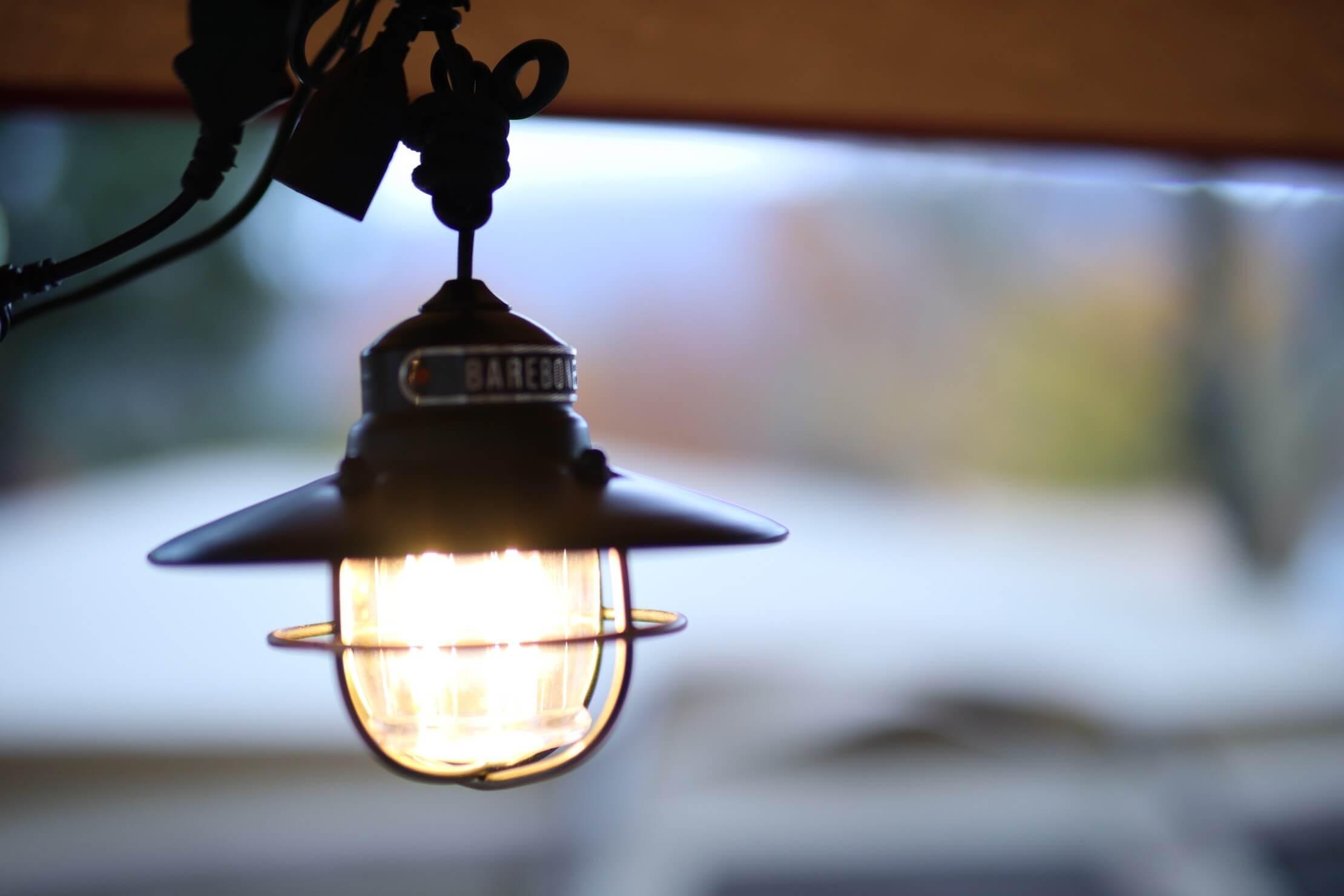 LEDのサブランタン(ベアボーンズリビング エジソン ペンダントライトLED)