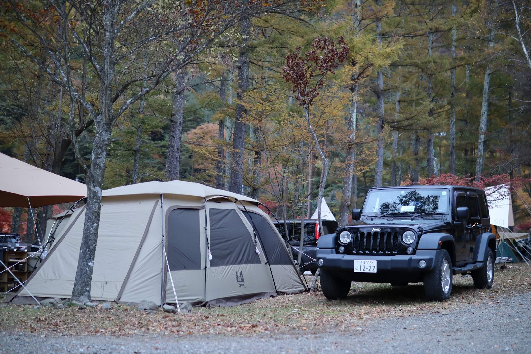 西湖キャンプ・ビレッジ 「ノーム」F-ZONE