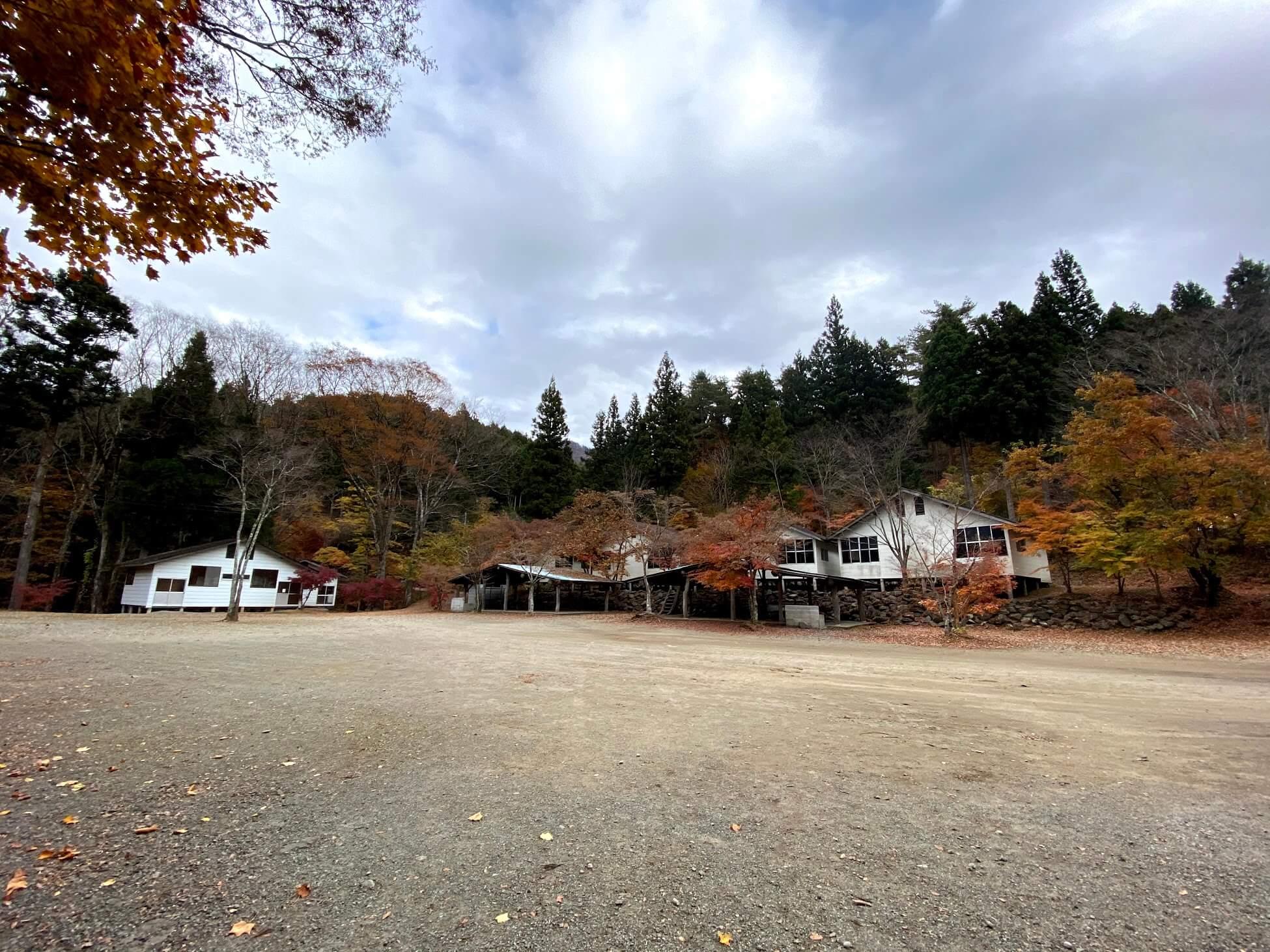 道志の森キャンプ場 広大な敷地