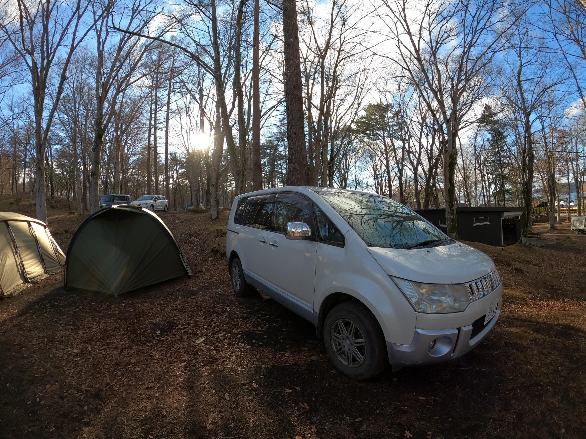the 508 | Camp(旧:撫岳荘キャンプ場)山中湖ビュー