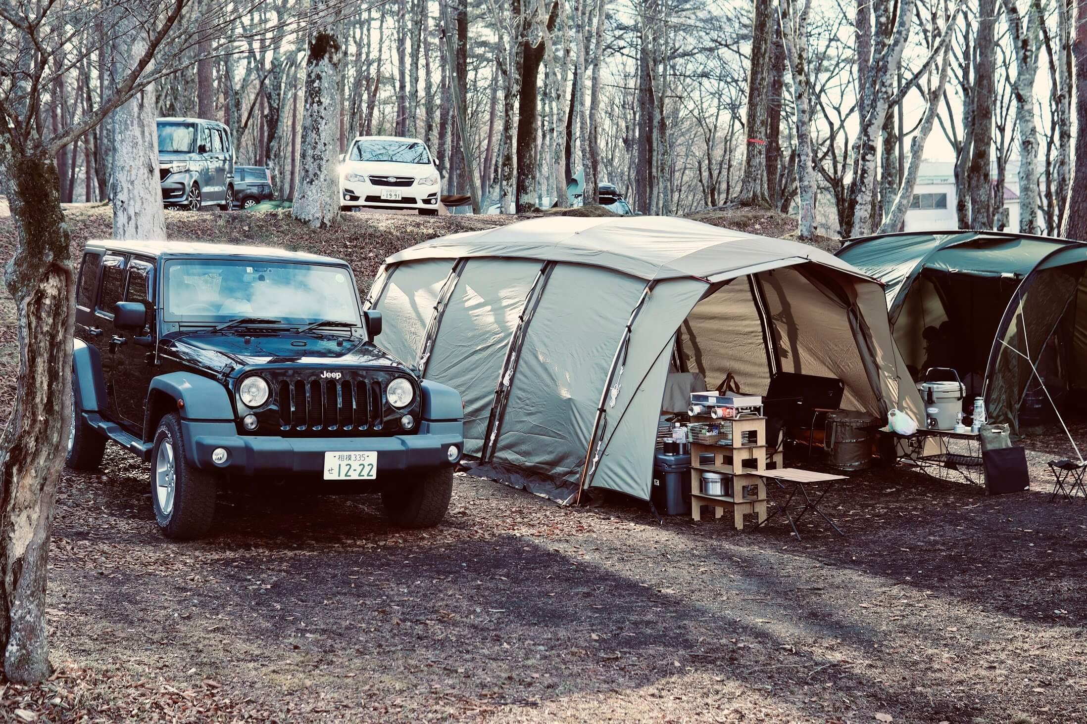 Jeep ラングラー + ogawa アポロン