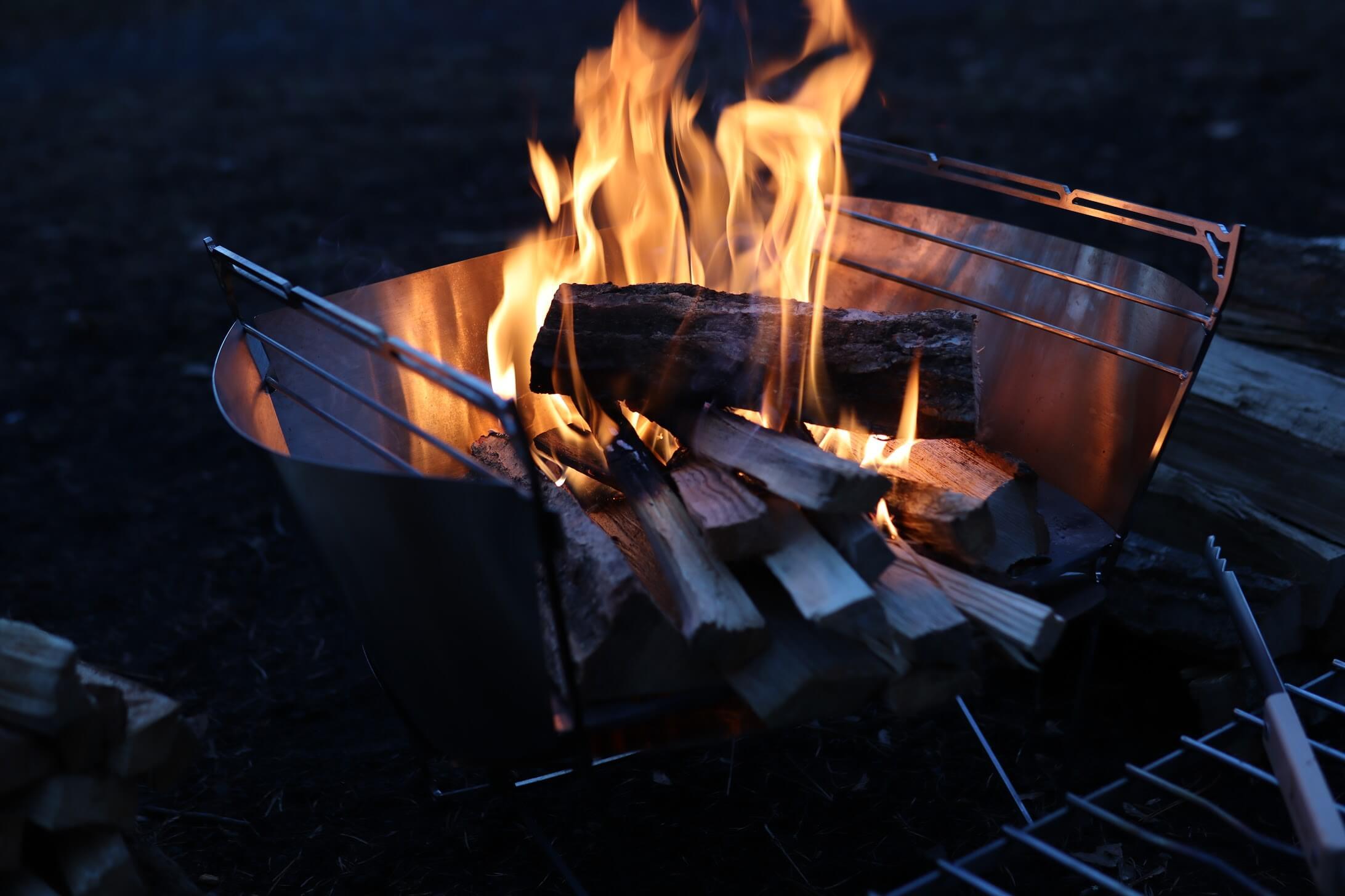the 508 | Camp(旧:撫岳荘キャンプ場)焚き火について