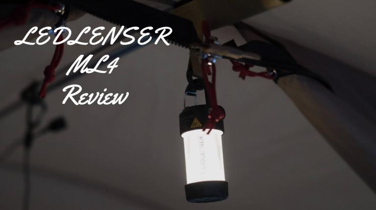 LEDLENSER ML4レビュー。洗練デザイン&眩しすぎない小型LEDランタン。[万能]