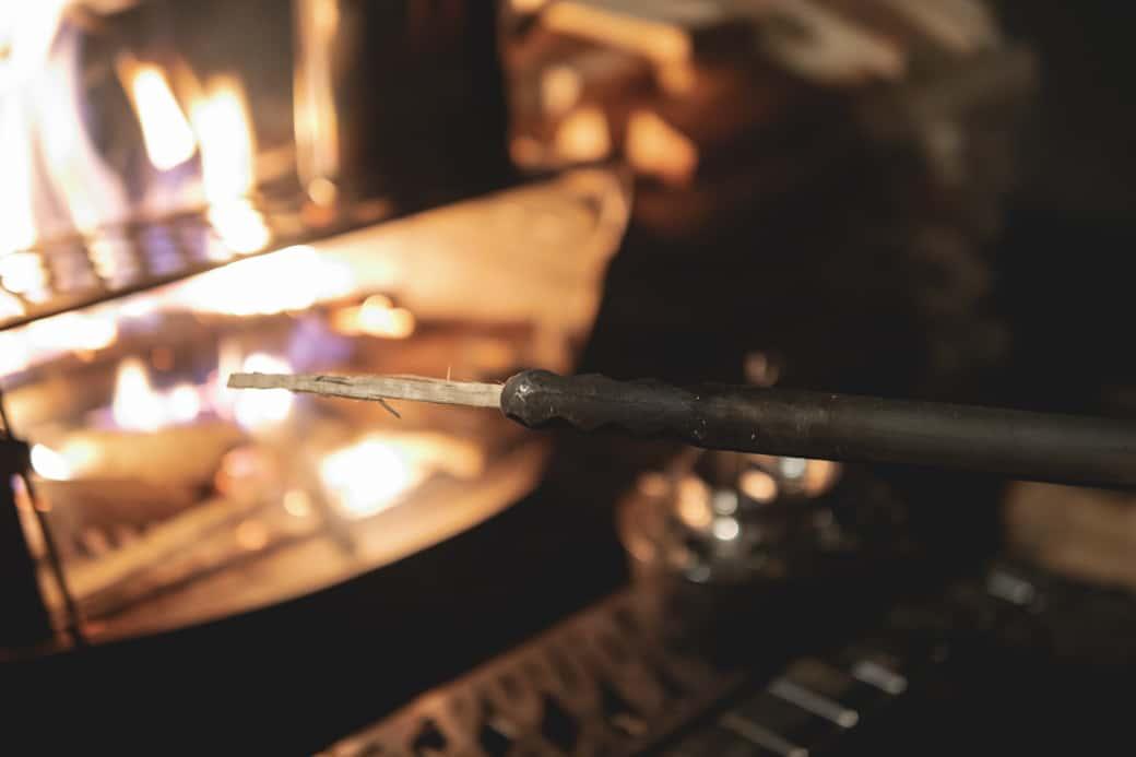 スノーピーク 火ばさみ 細かい作業