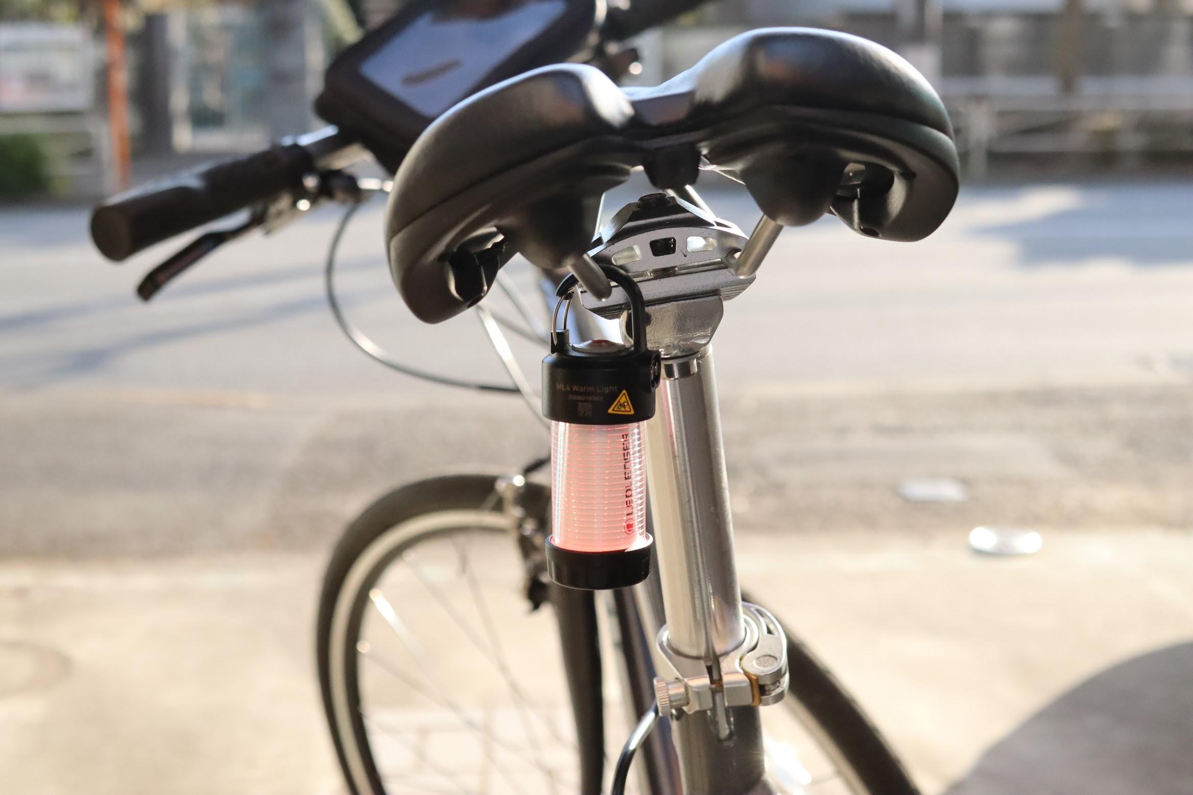 LEDLENSER(レッドレンザー)社 ML4 自転車 テールランプ
