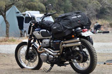 【日本初レビュー?!】GIVIのUT806はキャンプツーリングにおすすめしたい大容量シートバッグ【セミハードシェル】
