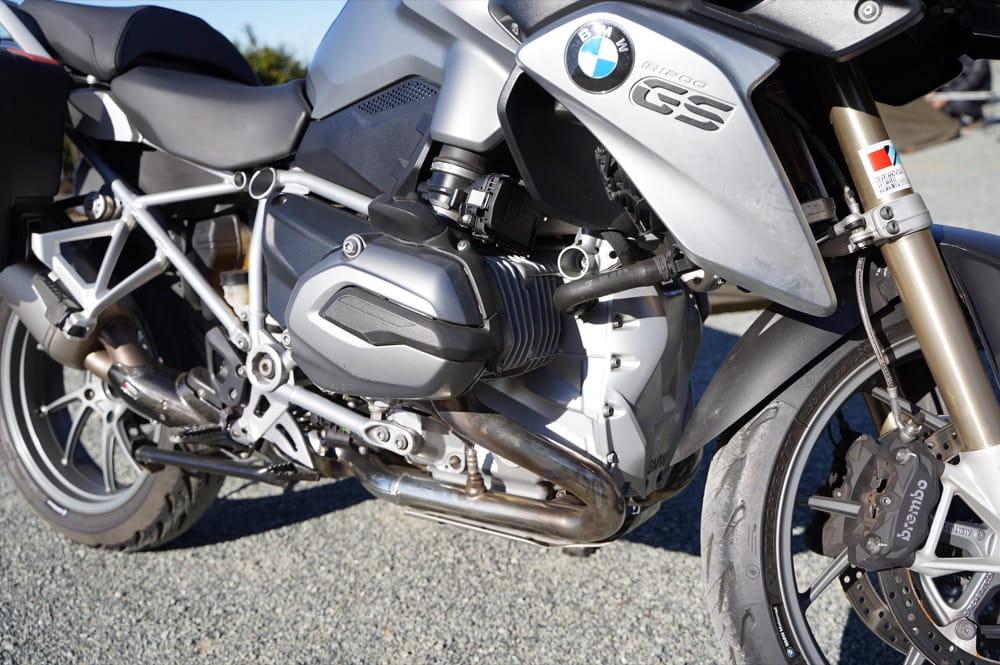 BMW R1200GS 水平対向エンジン