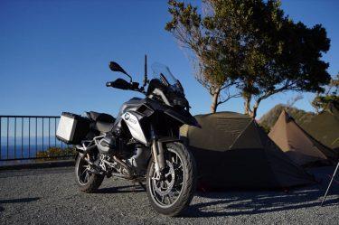 BMW R1200GSで行くキャンプツーリング。