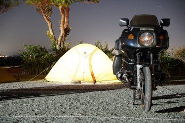 BMW R100RSで行くキャンプツーリング。