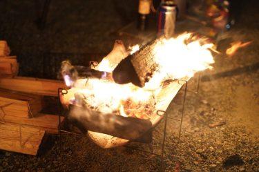 ベルモント TABIレビュー。美しい造形と軽さ際立つソロ向け焚き火台。