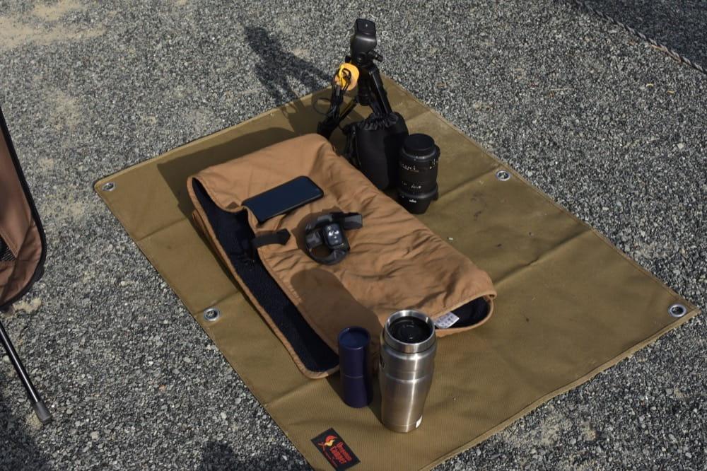 オレゴニアンキャンパー 防水グランドシート (Sサイズ/100×70cm) <コヨーテ>