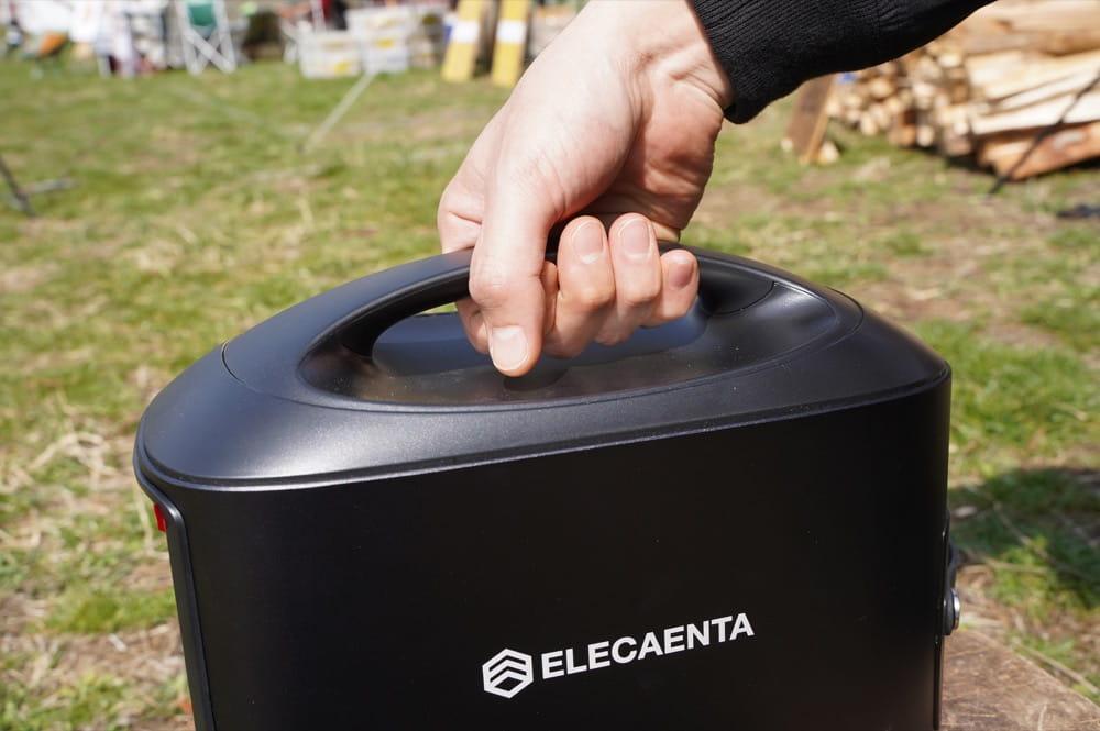 ELECAENTA(エレカンタ) S600W (ポータブル電源) 取っ手