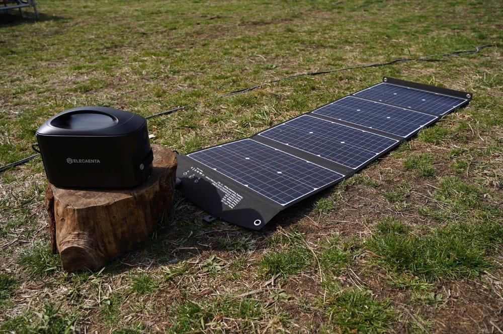 ELECAENTA(エレカンタ) 120W ソーラーパネル