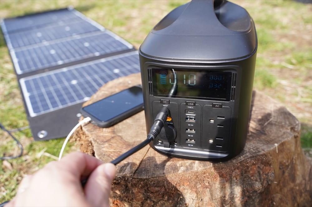 ELECAENTA(エレカンタ) S600W (ポータブル電源) 充電方法