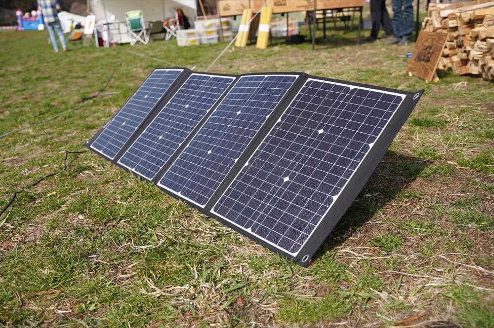 ELECAENTA(エレカンタ)120W ソーラーパネル