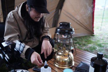 [キャンパー取材]ティリーランタンとボルボ240で楽しむ極上ソロキャンプ。アーティスト Vur[DEJAMAIS]のキャンプスタイル。