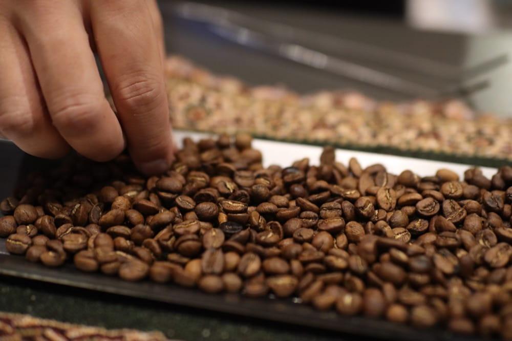 KEY COFFEE 焙煎オンラインイベント 焙煎 選別