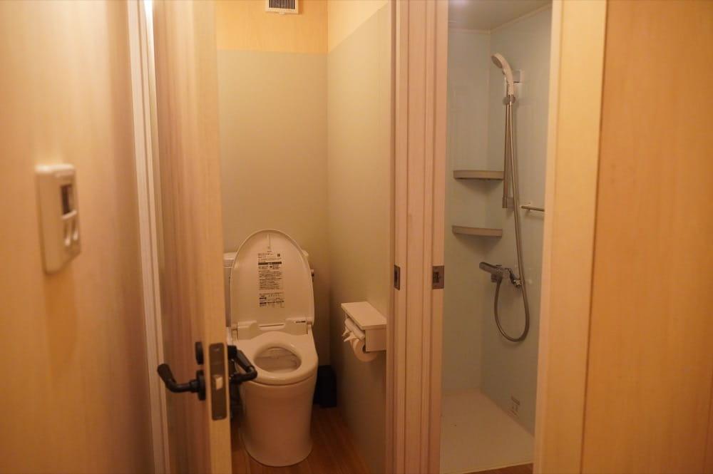 camp 24. 白州フィールド シャワー&お手洗い