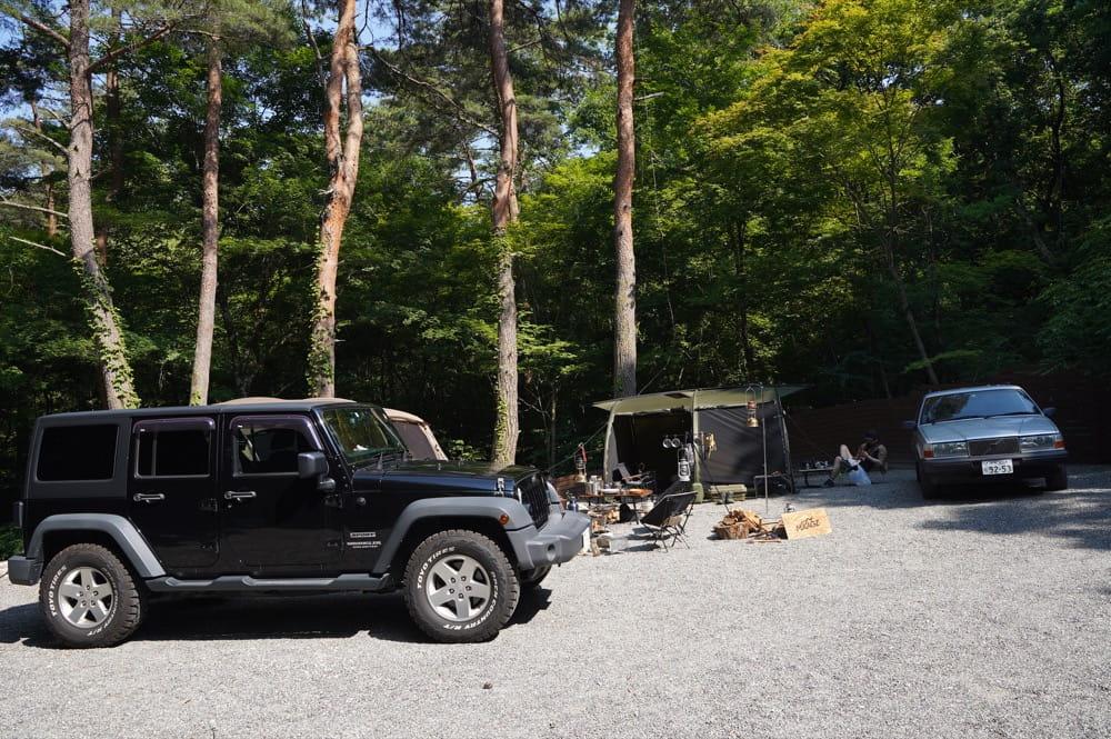 camp 24. 白州フィールド BLUE